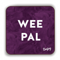 Doofery - Wee Pal  - Coaster - Purple